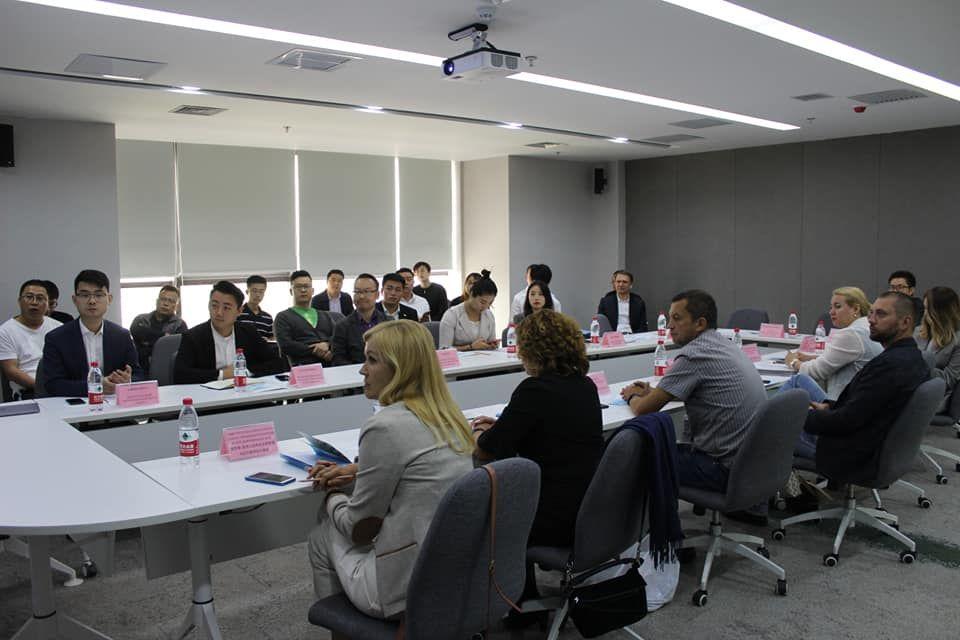 Презентации участников B2B встречи