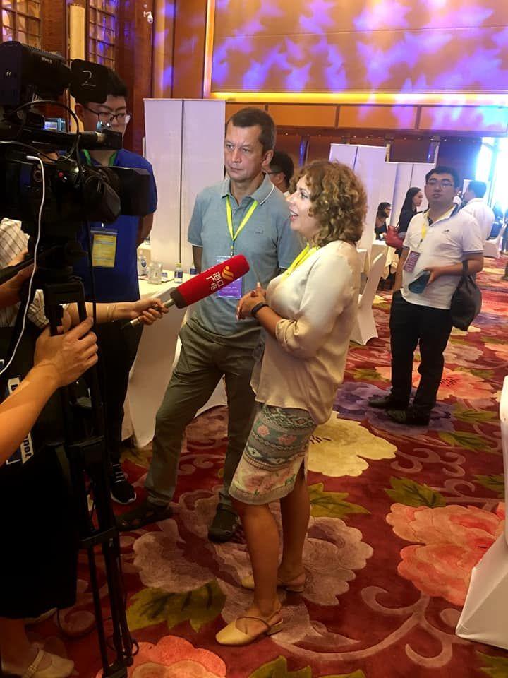 Интервью для СМИ Хайнань