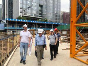 Уральские строители в Гуанчжоу