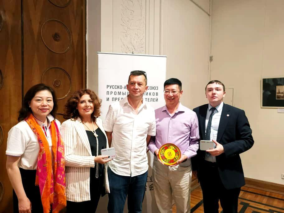 Представители Шанхайской делегации